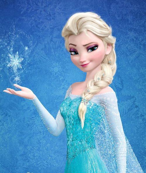 Elsa from Frozen and Frozen II