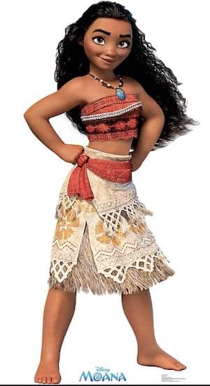Moana Disney Princess full figure skirt
